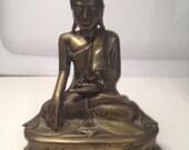 Bronze Buddha Statue 19th Century