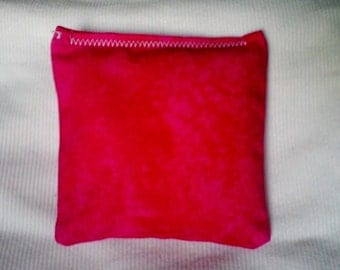 BELTANE Blend Reiki Rest and Relaxation Small Square Herbal Dream Pillow in Pink TIE DYE