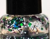 50% OFF Winter Garden 5 ml Mini Bottle Glitter Top Coat