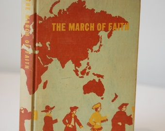 Vintage Religion Book, The March of Faith