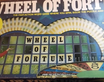 1985 Wheel of Fortune 3rd Edition Game