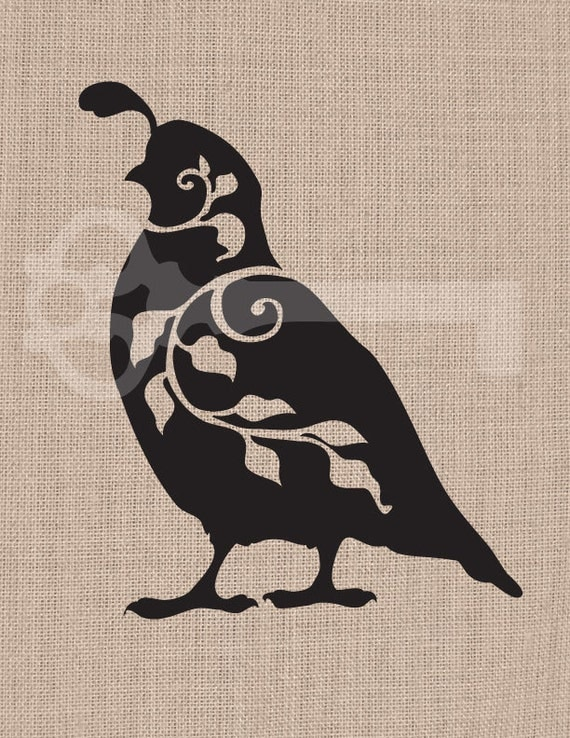 quail silhouette clip art - photo #44