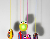 Crochet Mobile Owls
