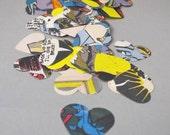 250 custom order Heart Wedding Confetti, Table Confetti decoration Batman