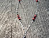 Pink Parrot Necklace / Margaritaville Necklace