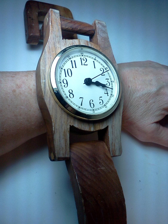 Giant wrist watch wall clock amipublicfo Choice Image