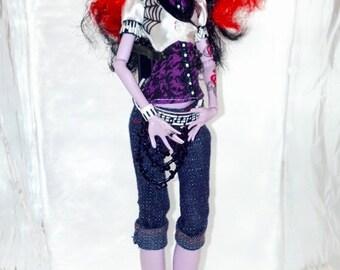 Monster High Doll Repaint: Autumn Operetta