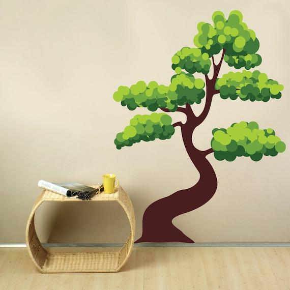 Bonsai Tree Wall Decal