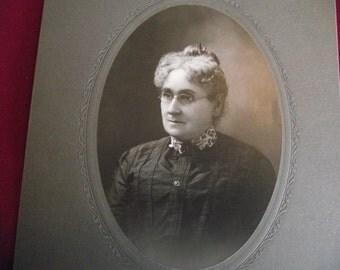 Vintage Photo, Matronly Lady Photo, Antique Photo, Photography, Black White Photo, Victorian Photo, Edwardian Photo, Vintage Photography