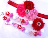 Red and Pink Valentines Set