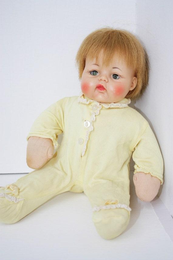 1963 Little Huggums Baby Doll Vintage Doll Madame Alexander