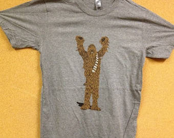 Wookie/Chewbacca shirt