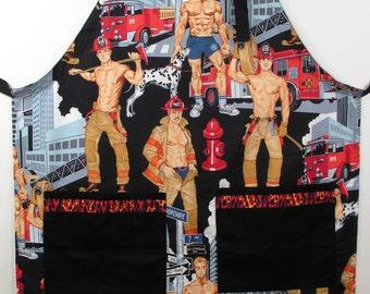 Hunky Firemen apron