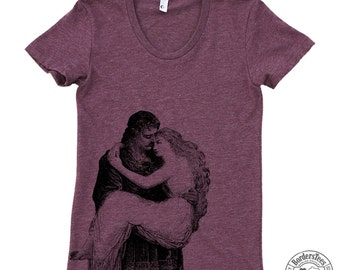 Women's CHIVALRY American Apparel Poly Cotton Tee