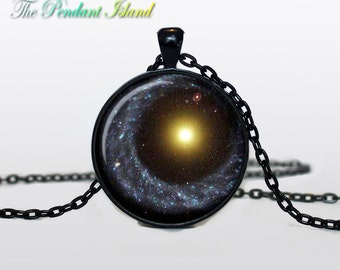 CONSTELLATION JEWELRY Nebula necklace Galaxy universe pendant for men constellation Serpens