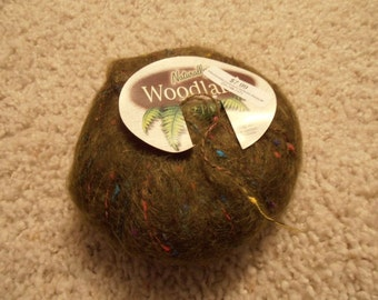 Destash Yarn - Naturally Woodland - Green