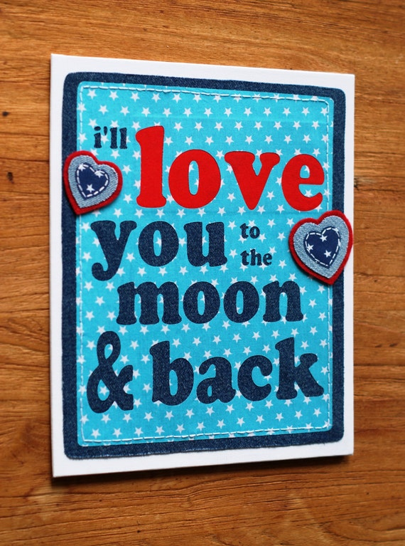 Items Similar To I Love You To The Moon And Back Vinyl: Items Similar To Fabric Canvas Wall Art, I Love You To The