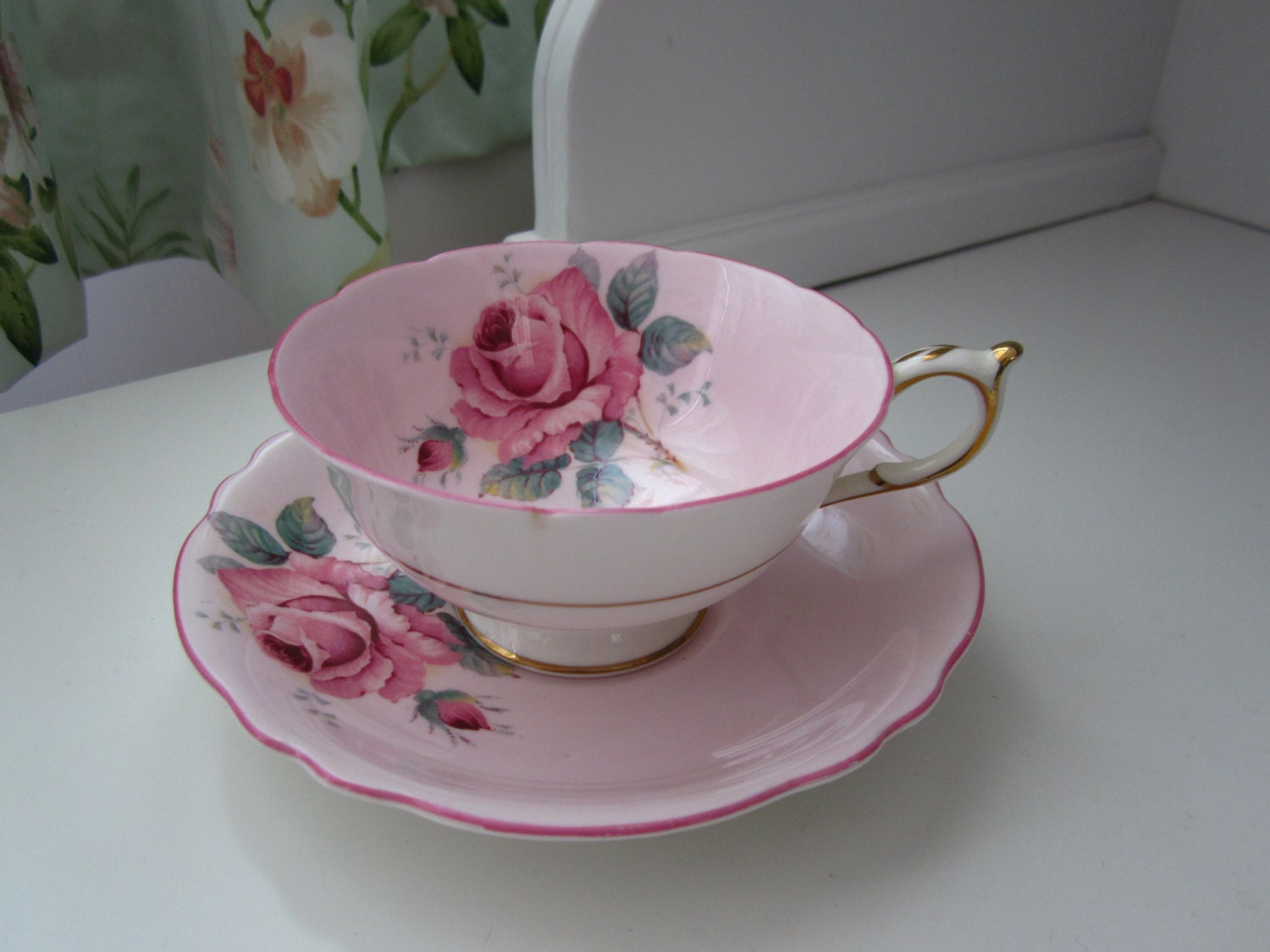 Find great deals on eBay for tea cup saucer pink. Shop with confidence.