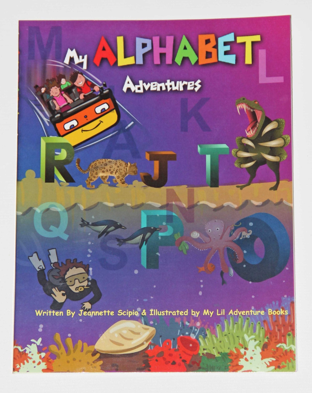 My Alphabet Adventures Personalized Children S Books