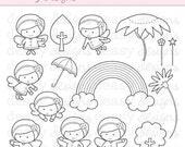 """Digital Stamp Art """" Little Rossie"""""""