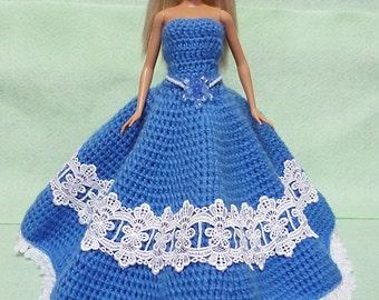 Crocheted Doll Dress 05