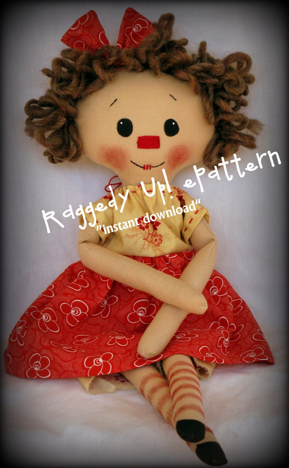This is an image of Agile Printable Rag Doll Patterns