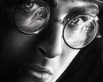 Harry Potter - 8x11 Drawing Reprint