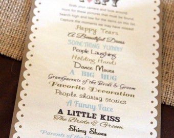 Itinerary For Wedding Reception