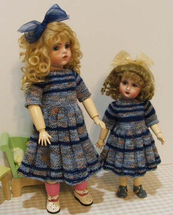 Knitting Pattern Doll Socks : Knitting Patterns Bleuette Rosette Doll by ...