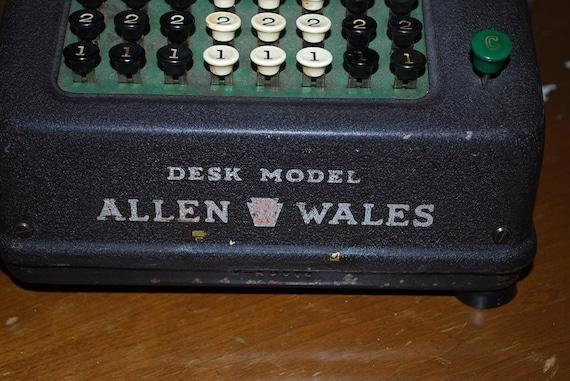 allen wales adding machine
