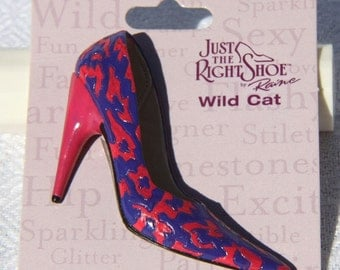 Just the Right Shoe Wild Cat Pin