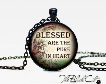 Christian Quotes pendant Inspirational necklace Sayings jewelry Quotes Phrases Christian (PQ0011)
