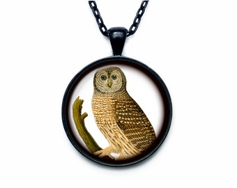 Owl pendant Owl necklace Owl jewelry nature necklace Owl pendant necklace