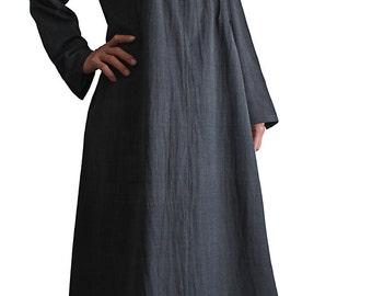 ChomThong Hand Woven Cotton Simple Pintuck Dress (DFS-041-01)