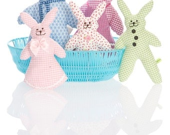 BBS 311 rabbit family pattern/photo instructions