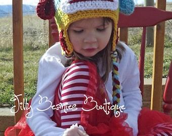Sock Monkey Hat, Monkey Hat, Animal Hat, Kids Hat, Children Hats, Crochet Hats, Girl Hats, Boy Hats, Baby Hats, Photo Prop