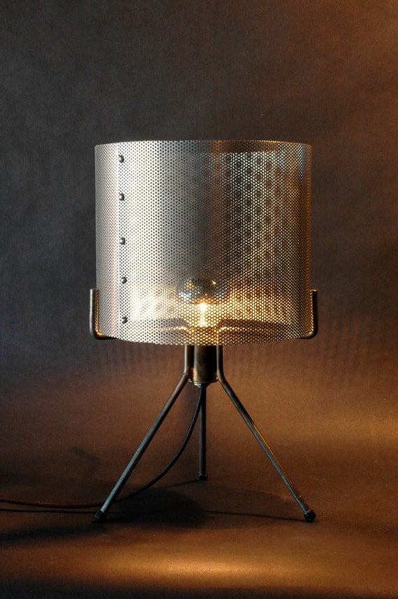 Items Similar To Industrial Perforated Metal Drum Shade