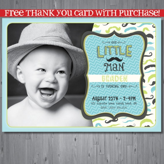 Little Man Birthday Invitations is the best ideas you have to choose for invitation example