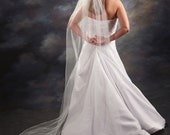1 Layer Chapel Length Veil