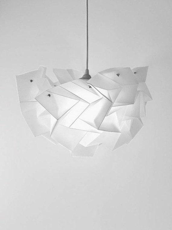 lampadario origami : Lampadario