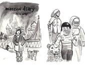 moscow diary zine