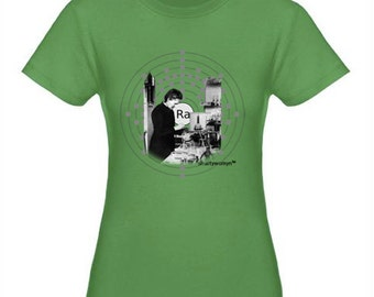Marie Curie Ladies Fitted Tee