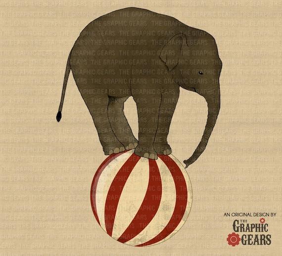 vintage elephant clip art - photo #5