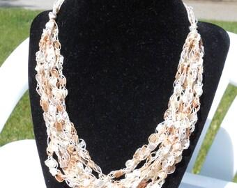 Trellis Necklace / Crochet Necklace Item No. 7
