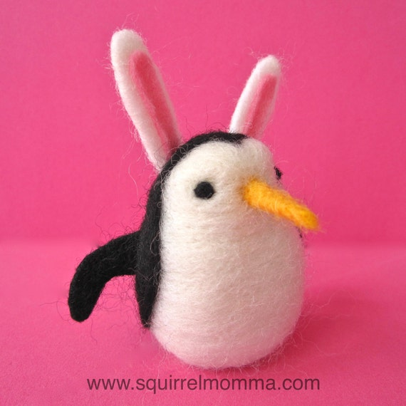 One Easter Bunny Penguin