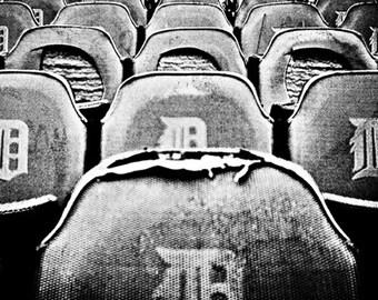 8x10 Old Detroit Tiger Stadium Fine Art Photographic Print - No. 39