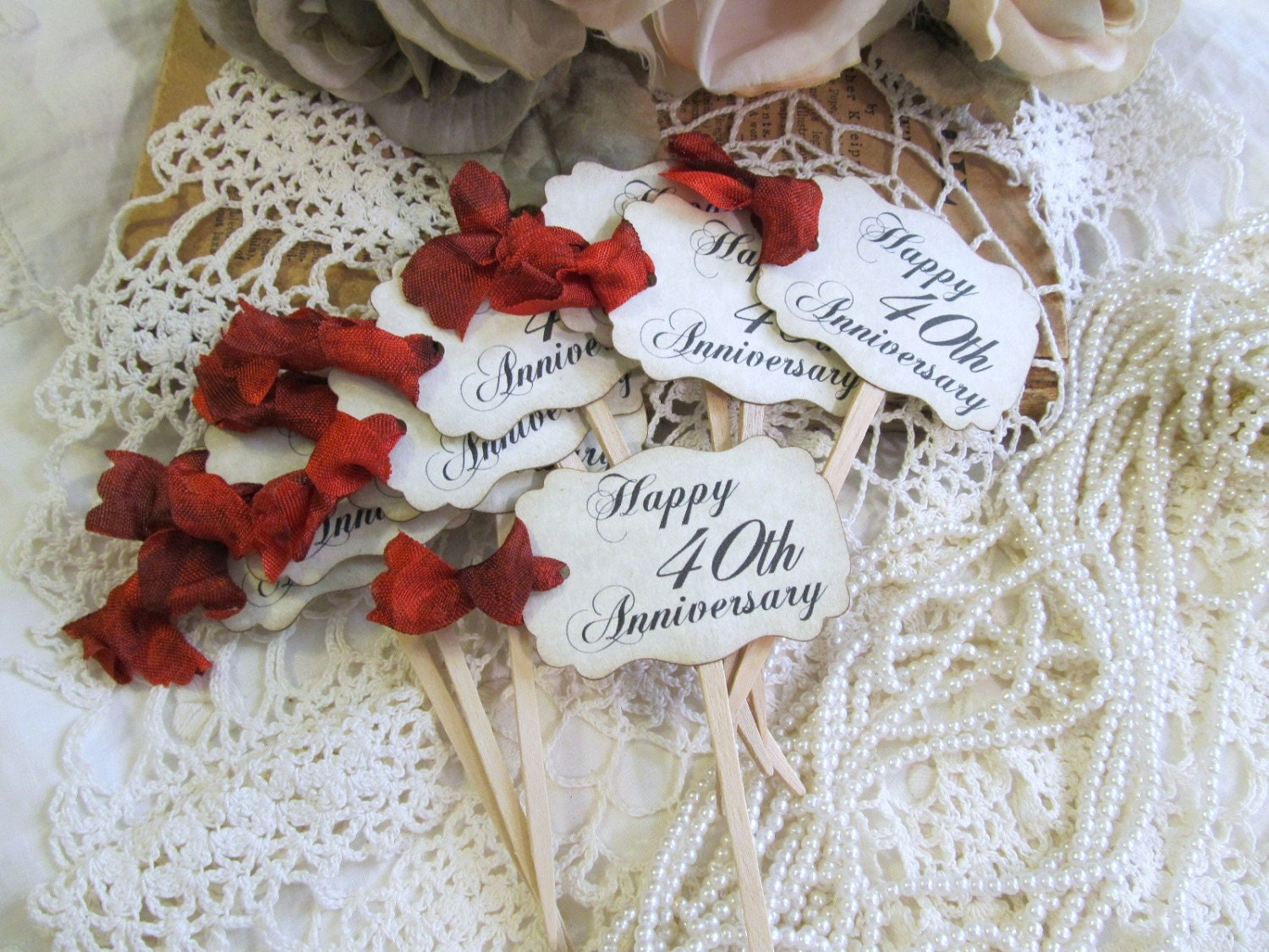 40th wedding anniversary decorations ireland mini bridal for 40th anniversary decoration ideas