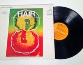 vintage HAIR The Musical - Original Broadway Cast Recording record - 1968