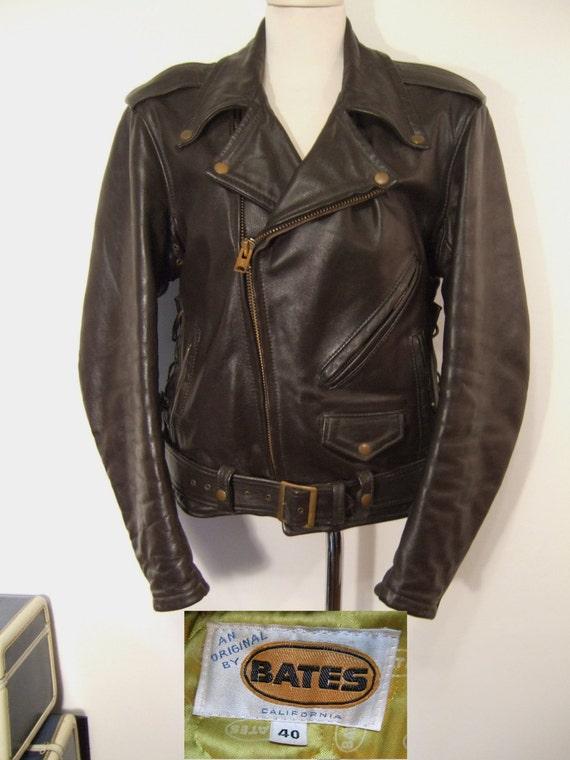 Highwayman Motorcycle Jacket Vintage 70's Bates Original
