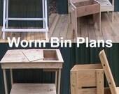 Worm Bin Plans